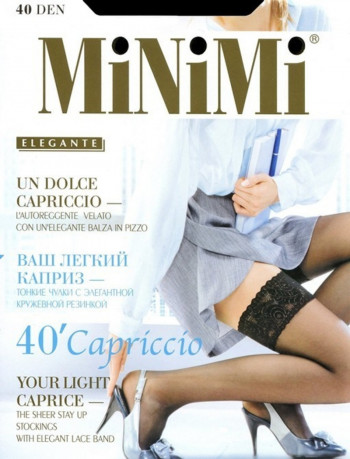 Чулки Capriccio 40, Minimi